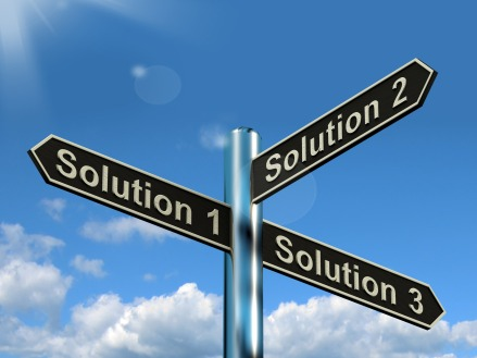 Solution 1 2 or 3 Choice Showing Strategy Options Decisions Or Solving